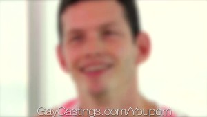 GayCastings Curious Miami bi guy shows how he can be fucked