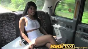 FakeTaxi High class escort takes a good fucking