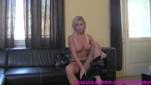 FemaleAgent HD Delicious blonde bombshell