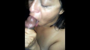 Gagging on Black Dick