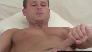 Muscular Straight Guy Danny Masturbating