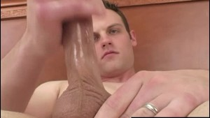 Hot Brunette Straight Guy Michael Masturbating