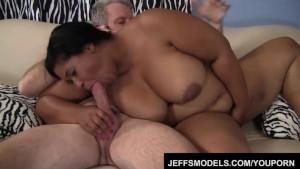 Ebony plumper Delilah Black gets fucked good