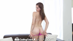 HD - CastingCouch-X 18 Years old Kasey is ready to be a pornstar