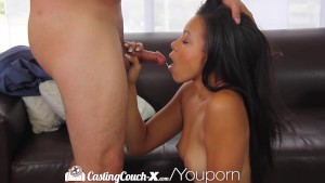 HD - CastingCouch-X Beautiful Adrian Maya auditions for porn