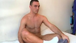 This straight guy is going to gay by sucking a big cock with pleasure !