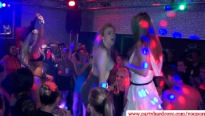 Real european amateurs get kinky at bachelorette party