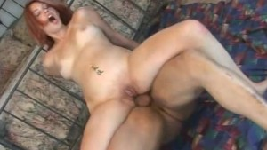 Red-Head Gets Ass Stretched By BBC - Juicy