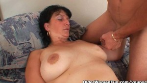 Mom wants your cum on her big