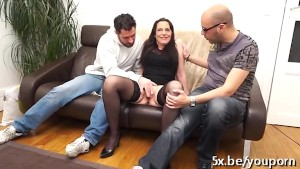 Mature Laura anal fucked by St
