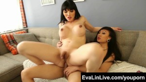 Sexy trannies Eva Lin and Venu