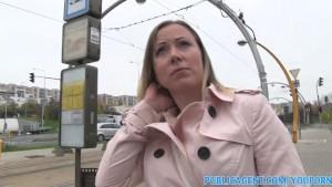 PublicAgent Blonde Bibi fucks