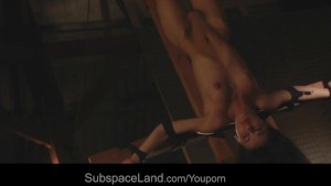 Vicky suckcock while tied and