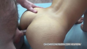 Asian hottie Olivia is getting her sweet ass fucked