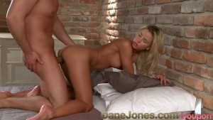 DaneJones Hot young couple passionate creampie