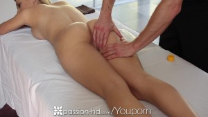 HD - Passion-HD Oiled up blonde Natalia Starr gets pussy pounded