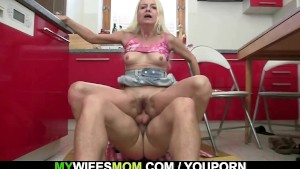 Granny seduces her daughter s boyfriend