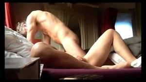 Playful hubby sexing his wifey on a hidden cam