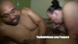 BBW gets banged by BBC snot fucked her pussy