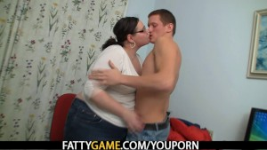 Plump teacher seduces student