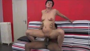 A mature tasted a big cock