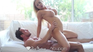 HD PureMature - Blonde Mia Leilani gets ass slammed with anal creampie