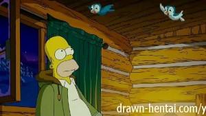 Simpsons Hentai - Cabin of lov