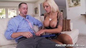 PornstarPlatinum - Nina Elle and Criss Strokes