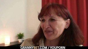 Granny traveller getting pounded
