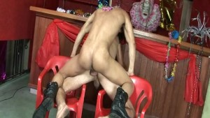 Cute Gay Latino Hard Bareback Sex
