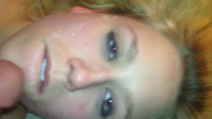 Mandy candy gets cum on face