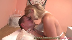 DaneJones Stunning young blonde fucked passionately by lover