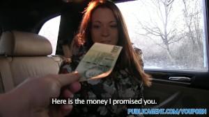 PublicAgent Sexy MILF Fucks a stranger in his car