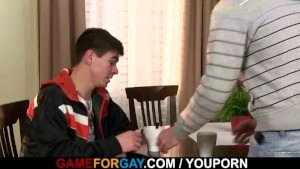 Straight honey is seduced by a gay