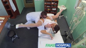 Sexy new nurse likes working f