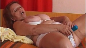 Granny seduces hot dude