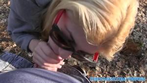 PublicAgent Sexy blonde fucking in her pink underwear