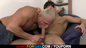 Straight honey rides massive gay cock