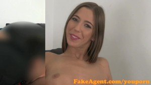 FakeAgent Cute amateur gets as
