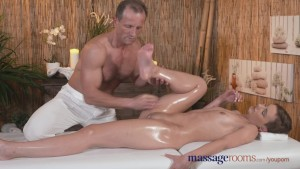 Massage Rooms Stunning young athletic model cums multiple times