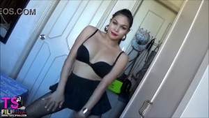 TS FILIPINA Asian Sexy Hot Busty Shemale Dancing