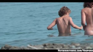 shaved vagina nudist females voyeur hd beach