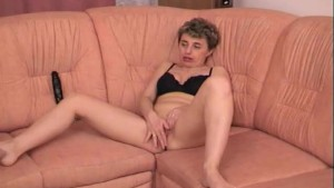 Old Lady And Her Dildos - Capt