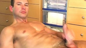 Serviced huge cock guy found in a guy club: Marco.