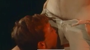 "Rick ""Humongous"" Donovan Gets Blowjob in Fantasy Scene from HEROES (1984)"