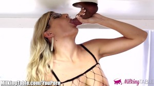 MilkingTable Blowjob Therapy a