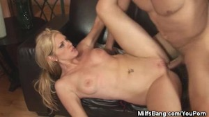 Blonde Milf Katrena Starr Fucked And Facialed