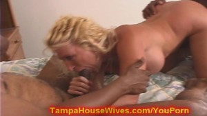 Milf mom takes two BBC up the ASS