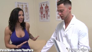 Doctor gets in his Huge TITS P