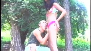 Outdoor Shemale Action - Gentlemens Video